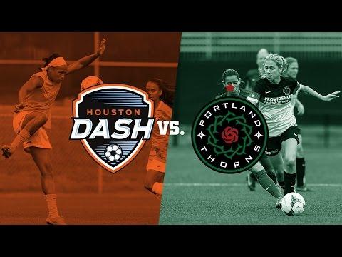 Houston Dash Vs. Portland Thorns FC