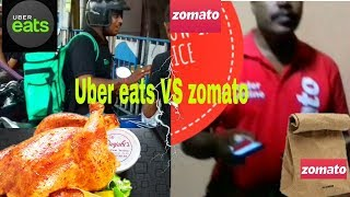 Zomato vs Uber eats 🔥|| 50% OFF offer Battle💡 || Which one is better? 🔥