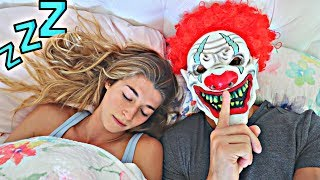 SCARY MASK PRANK ON MY GF! *She Hit Me*