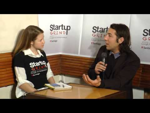 David Assael (ArchDaily) at Startup Grind Santiago