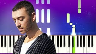 Sam Smith - To Die For (Piano Tutorial)