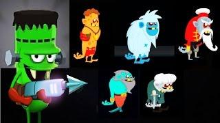 ОХОТНИКИ НА ЗОМБИ 29 Мульт Игра для детей про ловцов зомби Zombie Catchers Мобильные игры