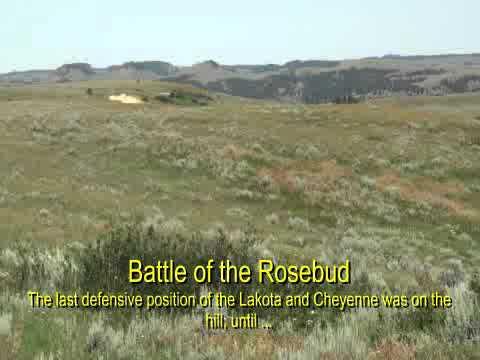 Battle of the Rosebud Creek - June 17, 1876