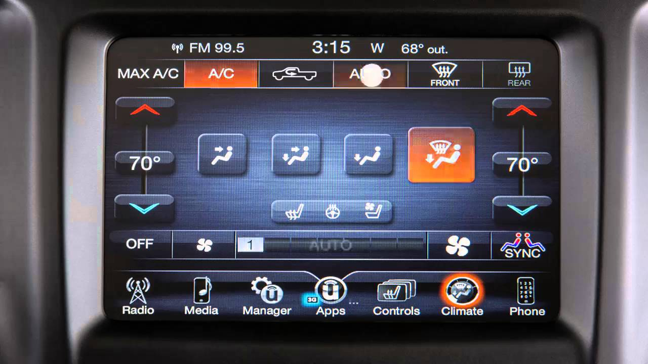 2016 Ram Truck 1500 2500 3500 Automatic Climate Controls Youtube Auto Fan For Temperature Control