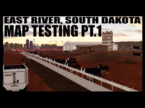 East River, SD Map Test - Stream Pt.1