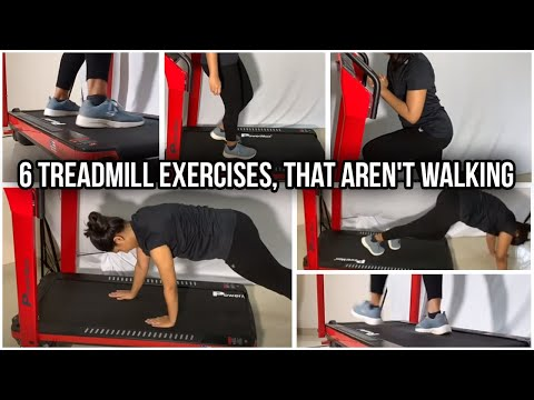 6 Treadmill Exercises, That aren't Walking