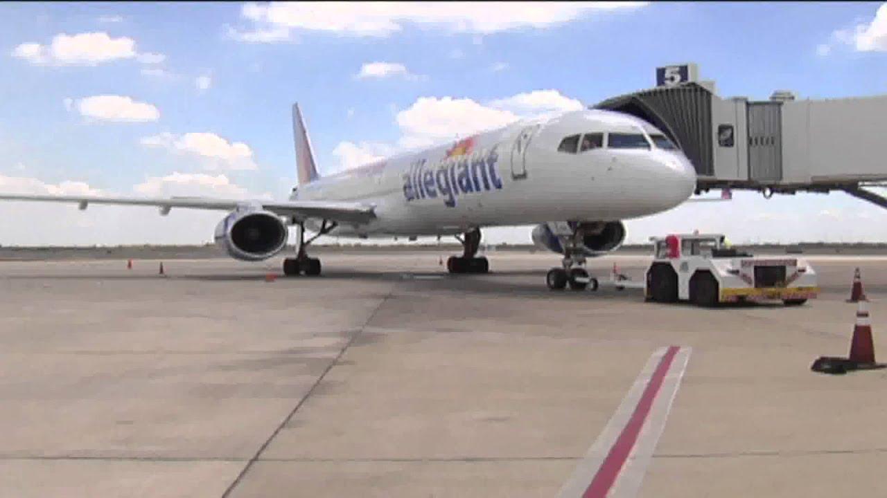 Allegiant Air Adds Boeing 757 Jets To Mcallen Las Vegas