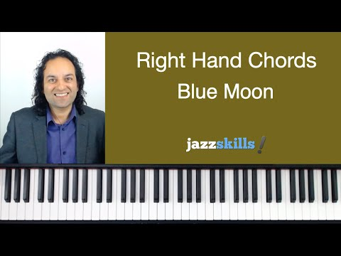Right Hand Chords - Blue Moon