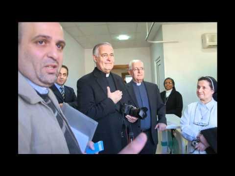 Journey to the Holy Land: Visting the Italian Hospital in Amman, Jordan