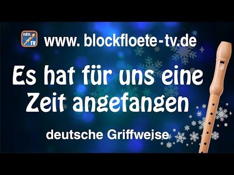 ♬-es-hat-für-uns-eine-zeit-angefangen-☆-deutsche-blockflöte-☆-weihnachtslieder-☆