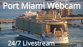 Port Miami Webcam -- Live Streaming from PTZtv