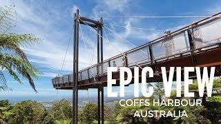 EPIC VIEW OF COFFS HARBOUR! | FOREST SKY PIER AT SEALY LOOKOUT AUSTRALIA