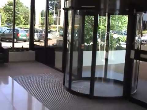 Circle slide automatic doors (curved sliding doors) & Circle slide automatic doors (curved sliding doors) - YouTube