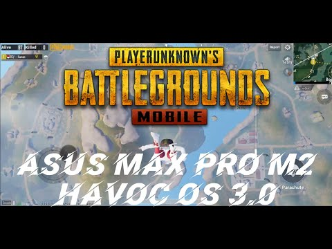 Review Asus Max Pro M2 Havoc OS 3.0 | PUBG Mobile Indonesia