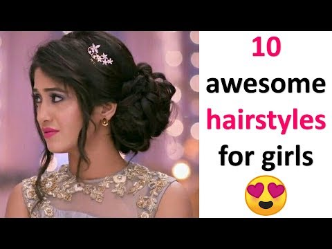 10-gorgeous-hairstyles-for-girls-||-cute-hairstyles-||-ladies-hair-style-||-hairstyles-for-girls
