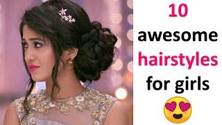 10 gorgeous hairstyles for girls || cute hairstyles || ladies hair style || hairstyles for girls