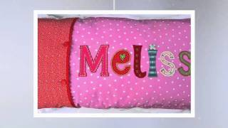 Personal name cushions personalized baby name gifts