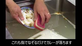 洗剤 無添加 業務用 クリーンムーヴ 洗浄 実験 お皿