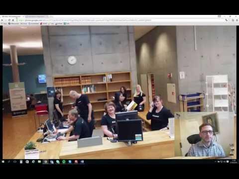 Biblioteket på Høgskolen i Østfold, studiested Halden
