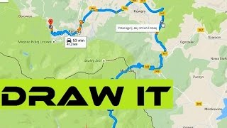 How To Create A Cycling Route In 5 Minutes And Follow It On GPS Device? Bike Navi Free HD Video