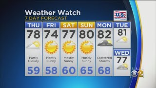 CBS 2 Weather Watch (5 P.M.,Aug. 21, 2019)