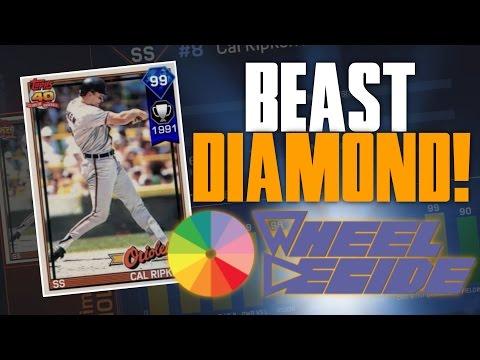 99 DIAMOND CAL RIPKEN JR WHEEL DECIDE DRAFT! | MLB THE SHOW 17 BATTLE ROYALE