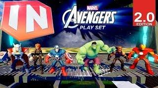 Disney Infinity 2.0 Avengers Play Set Trailer