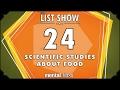 24 Scientific Studies about Food - mental_floss List Show Ep. 503