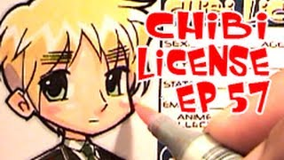 Drawing Chibi License - Igirisu | England | Britain | Hetalia