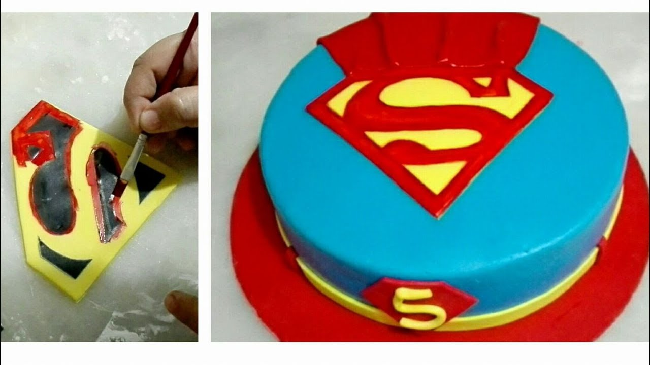 fondant spiderman cake topper tutorial