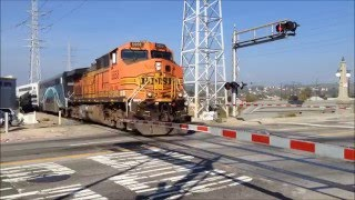 Metrolink at Main St with BNSF March 18 2016