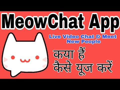 How To Use MeowChat App || MeowChat App