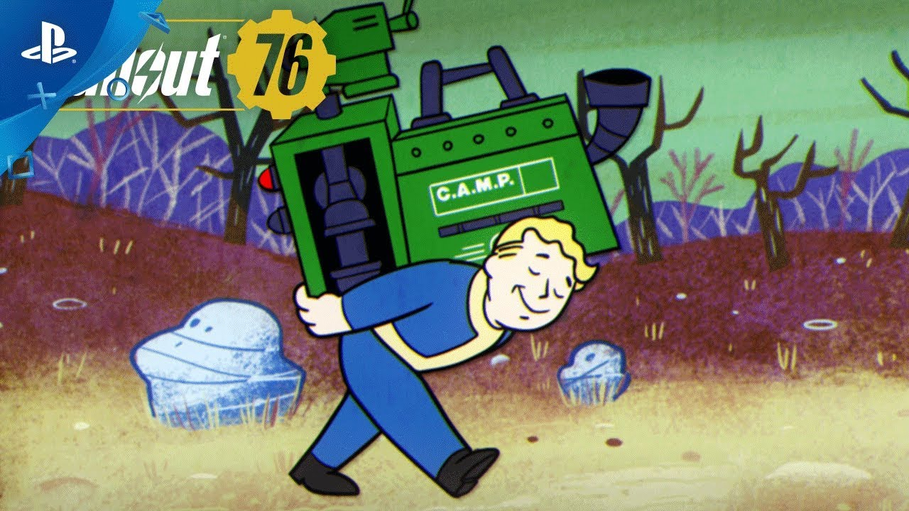 Fallout 76 – Vault-Tec Presents: Crafting and Building Video | PS4