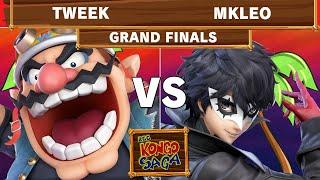 2GG Kongo Saga - TSM | Tweek (Wario) Vs Echo Fox | MkLeo (Joker) Grand Finals - Smash Ultimate