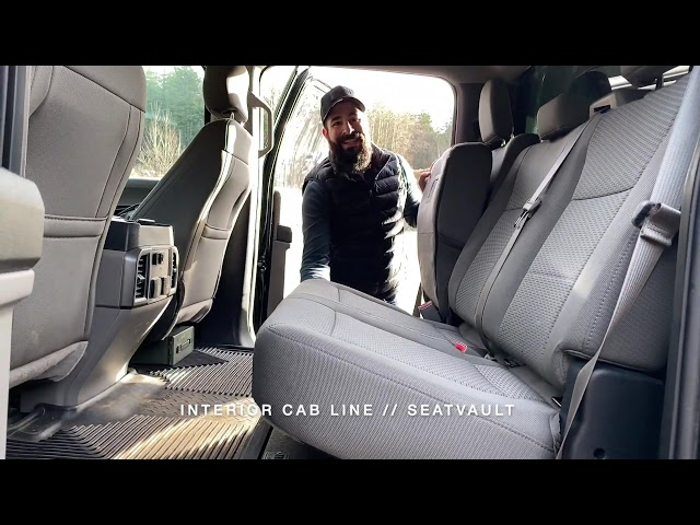 TruckVault - SeatVault In Cab Solution