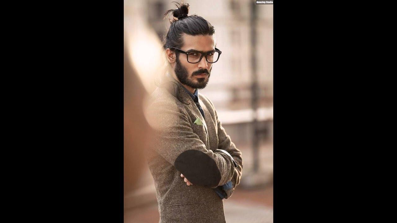 Man Youtube Makeup Gurus: Nerdy Bun Man With Beard