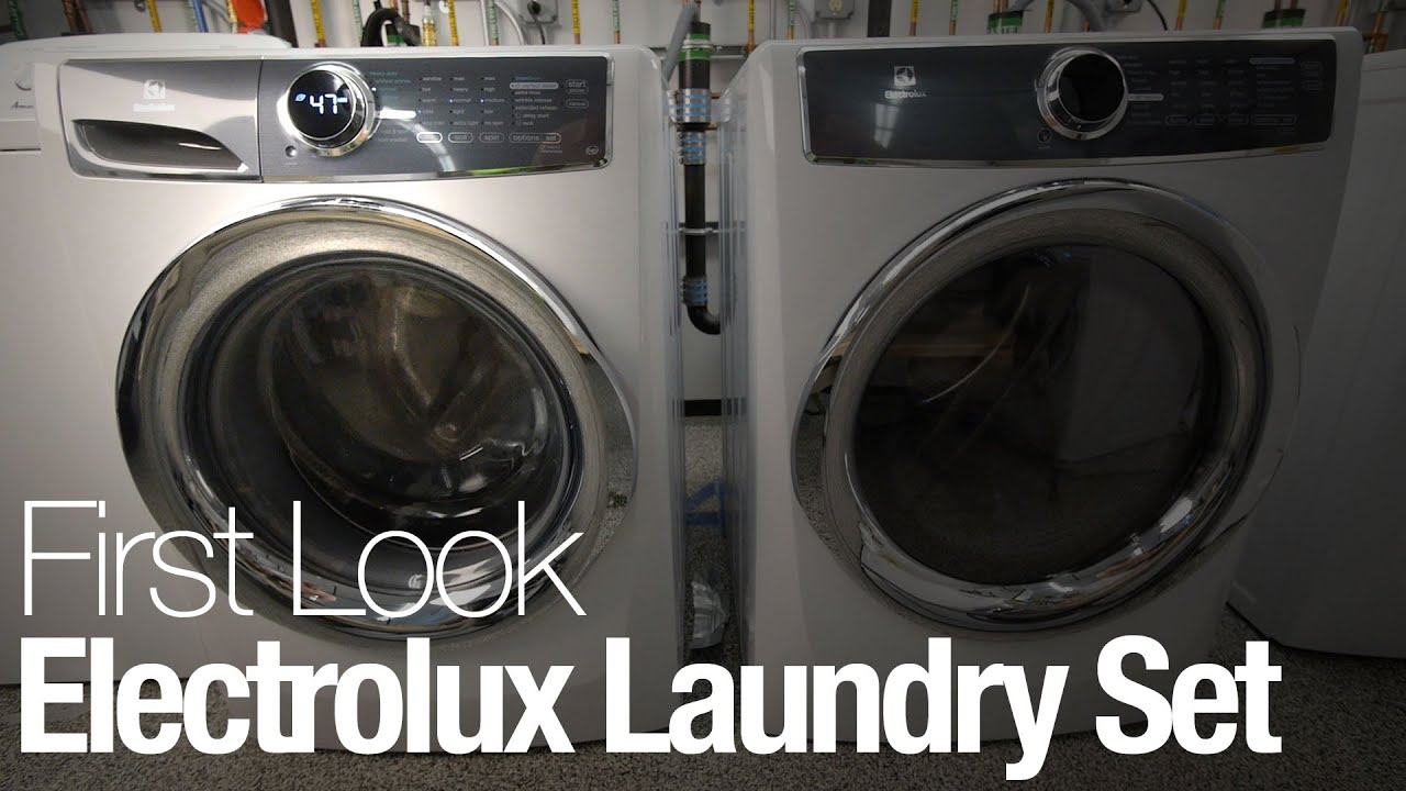electrolux 617 washer and dryer. the electrolux 617 series is best laundry set you can buy - youtube washer and dryer .