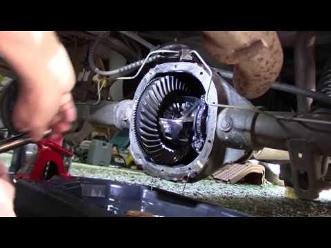 99 Ranger Rear Axle Bearing & Seal Replacement