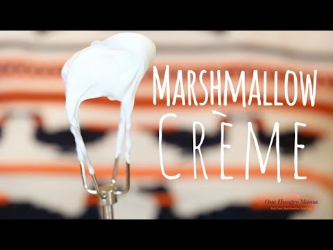 Homemade Marshmallow Creme recipe | One Hungry Mama