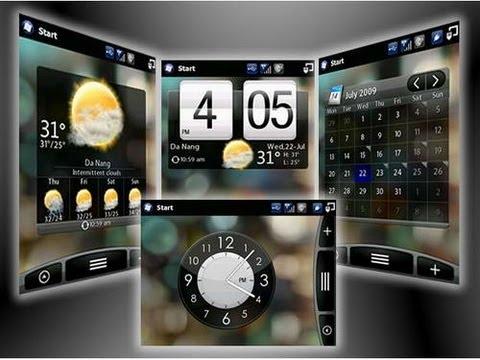Gadgets Para Windows 7 (HTC Home)