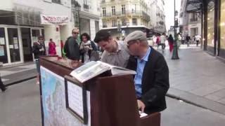 Spontaneous Jazz Duet On Street Piano In Paris #2
