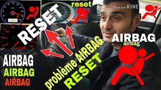 airbag problemi arıza nasıl söndürülür. réparé problème voyant airbag reset suprime elm327 BECERI TV