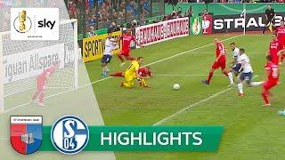SV Drochtersen/Assel - FC Schalke 04 0:5 | Highlights - DFB-Pokal 2019/20 | 1. Runde