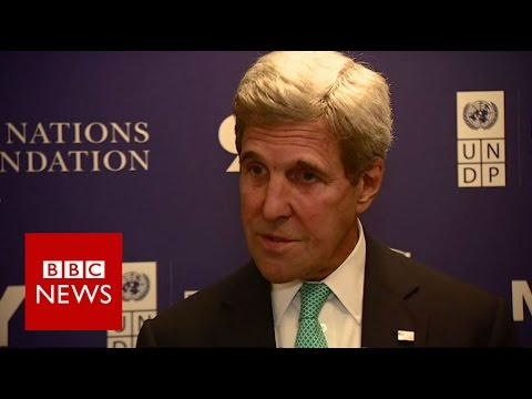 Syria: Assad 'must be more responsible' says John Kerry - BBC News