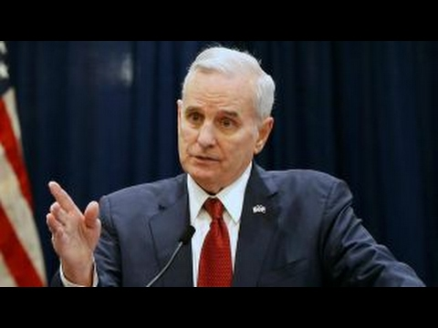Minnesota governor reveals he has prostate cancer