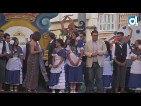 San Fernando: María Romero ya luce su banda de Salinera Mayor de la Feria