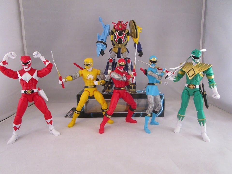 power rangers legacy figures wave 1 review mighty morphin ninja storm youtube. Black Bedroom Furniture Sets. Home Design Ideas