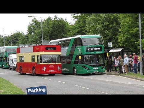 Nottingham Area Bus Society Bus Gathering Ruddington July 2017