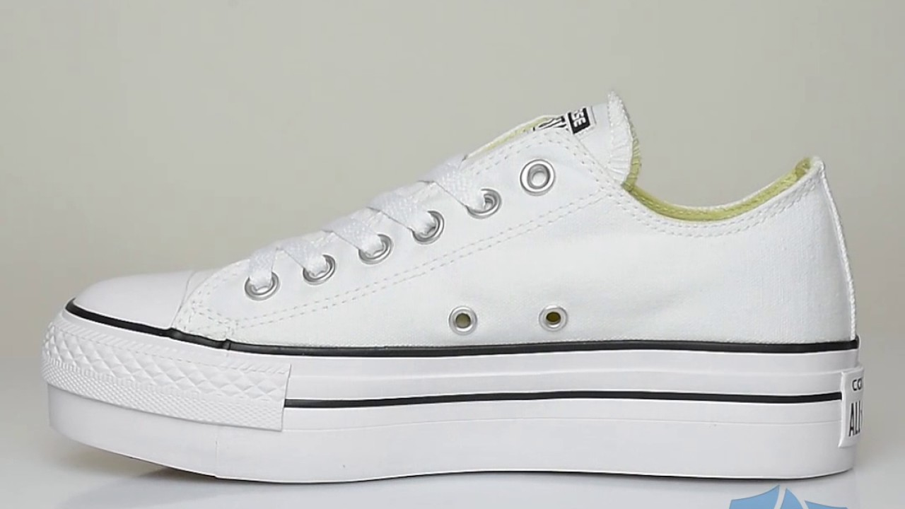 564322f8f4 Converse Chuck Taylor All Star Platform Ox - Sportizmo - YouTube