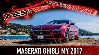Maserati Ghibli MY 2017 | Test drive in anteprima